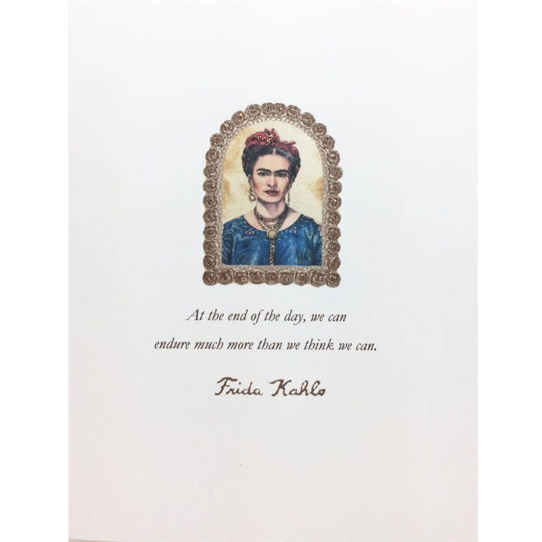 Frida Kahlo greeting card Lumia Designs