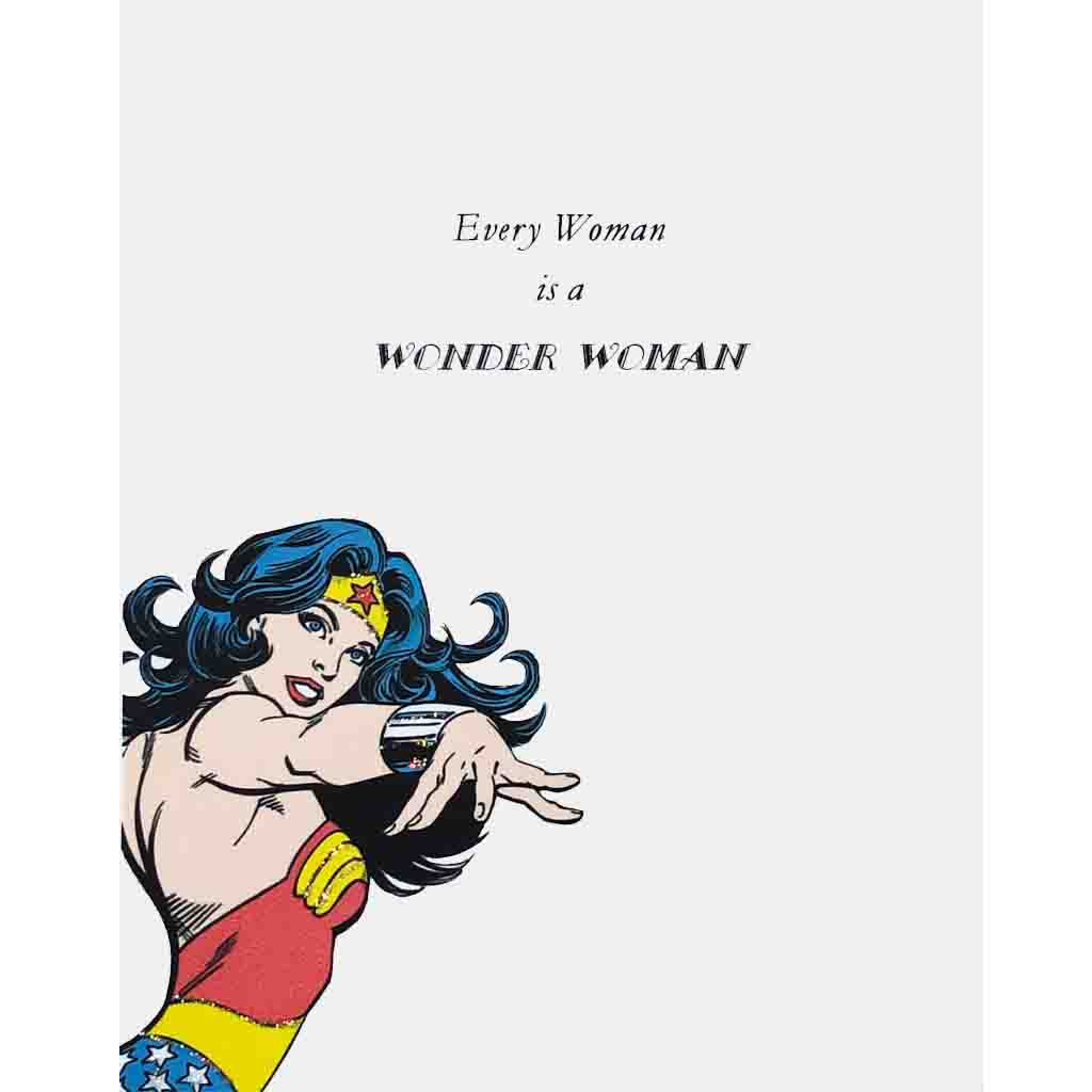 Wonder Woman Greeting Card Lumia Designs