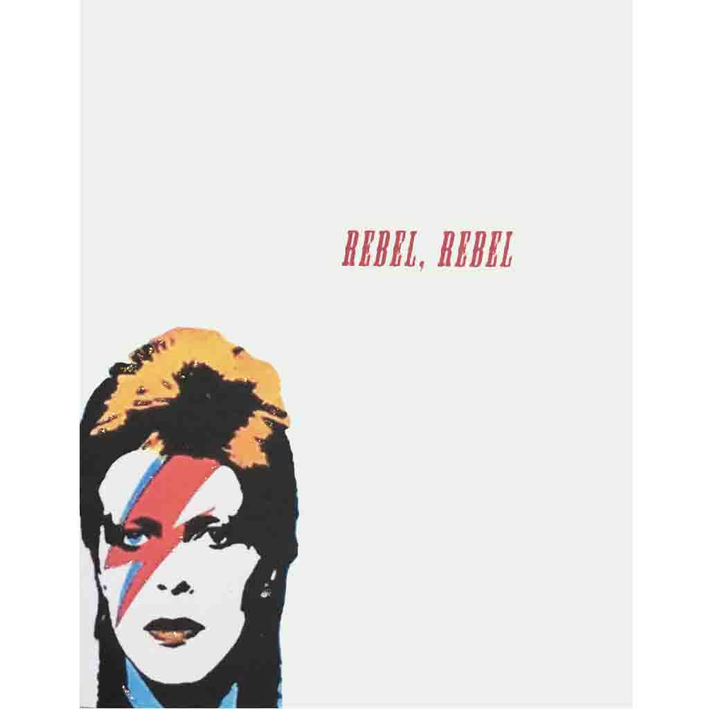 Bowie-Rebel Everyday Card