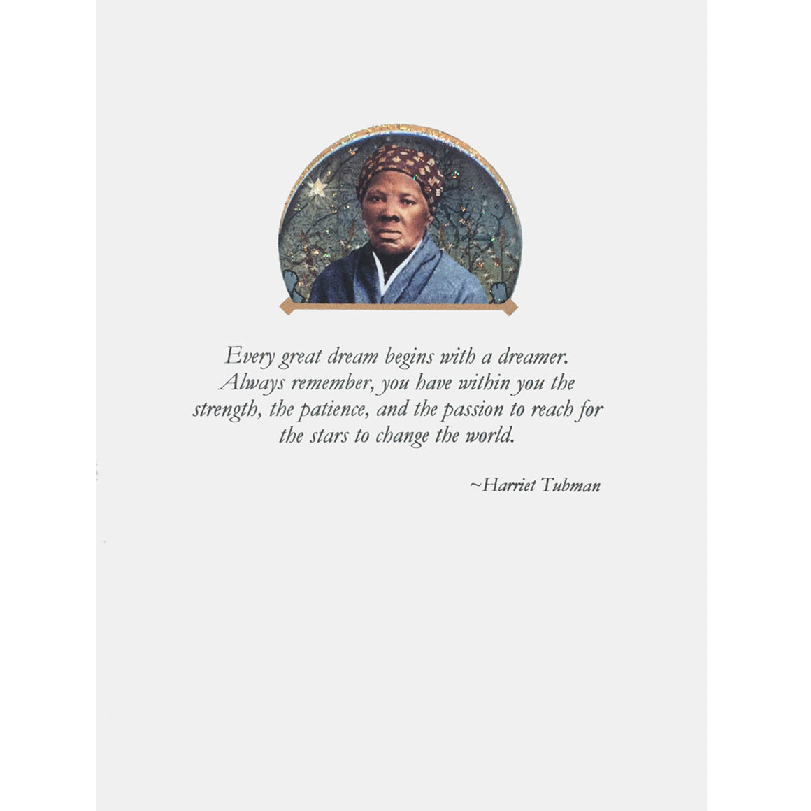 Harriet Tubman Quote Card