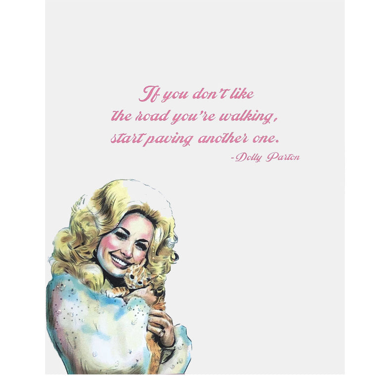 Dolly Parton Quote Card