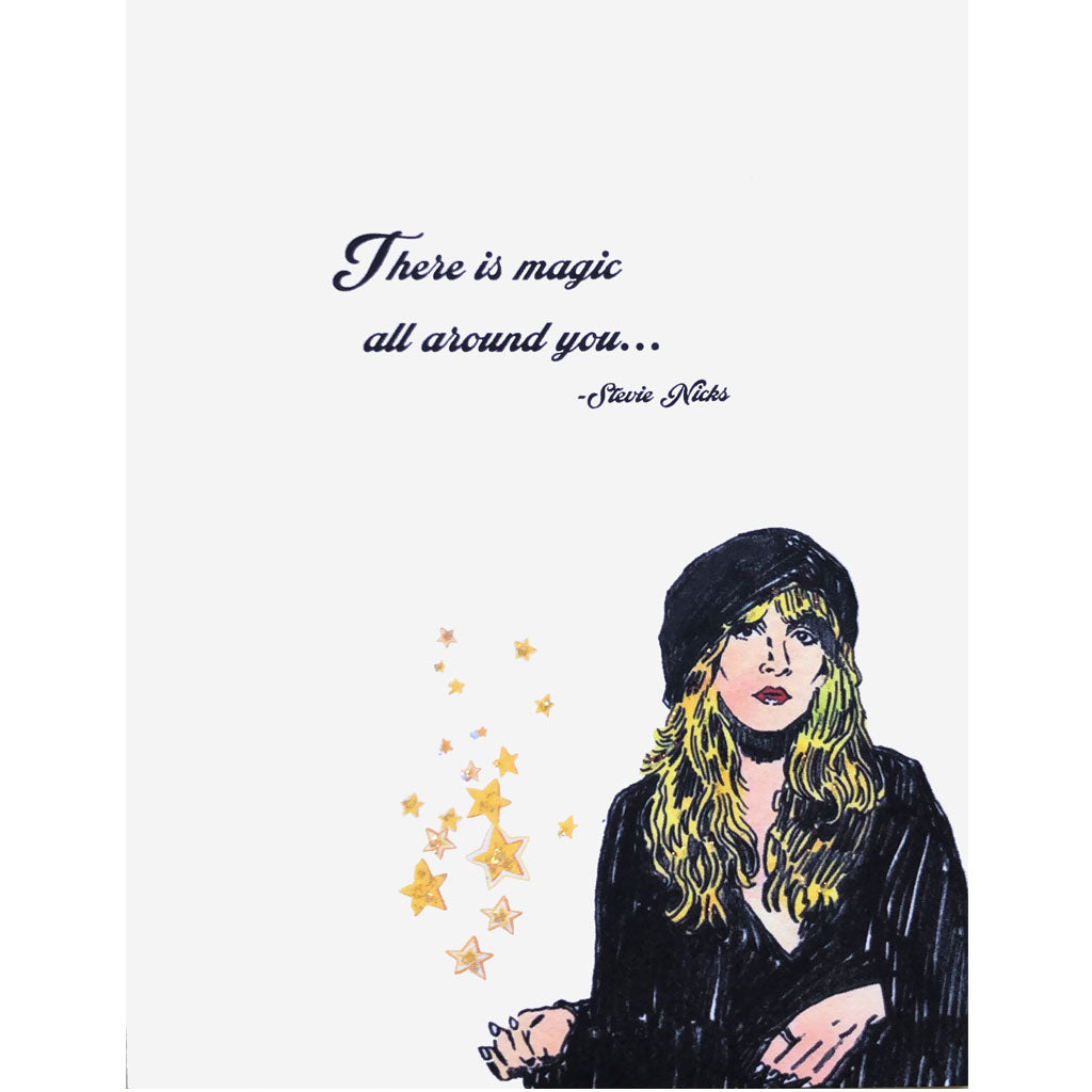 Stevie Nicks Quote Card