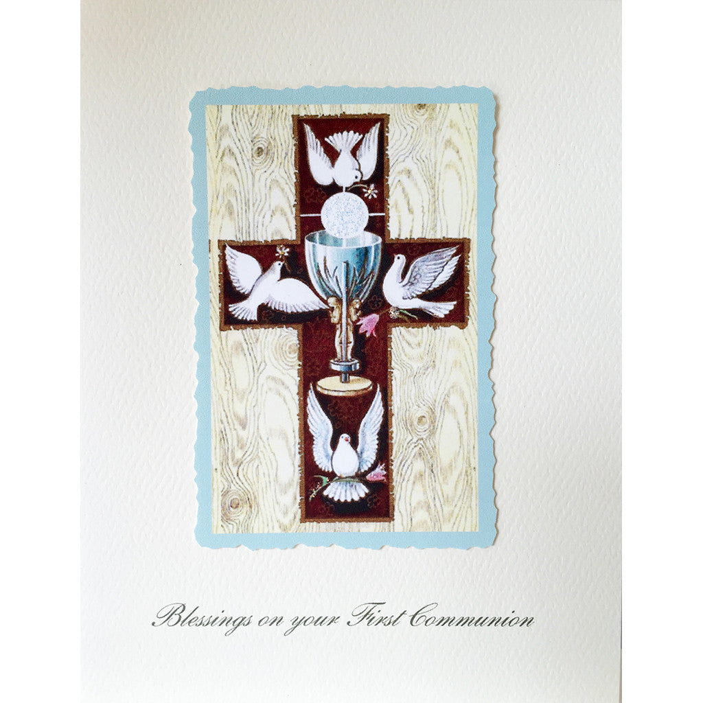 Greeting Card First Communion - Lumia Designs