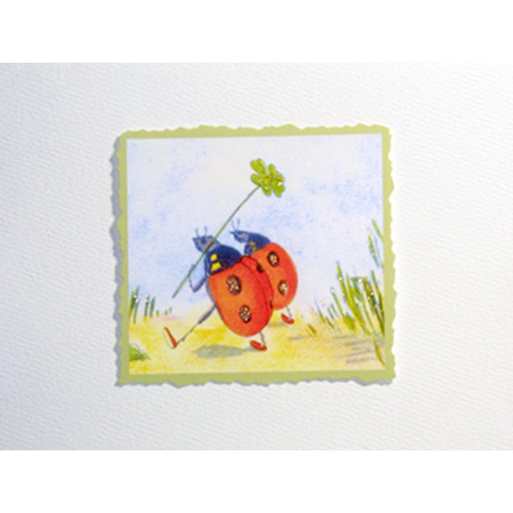 Greeting Card Ladybugs - Lumia Designs