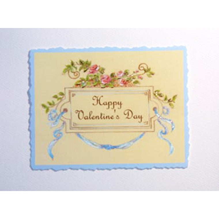 Greeting Card Ribbons & Roses RO-11 - Lumia Designs