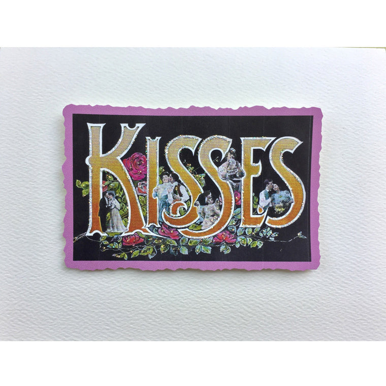 Kisses Love Card
