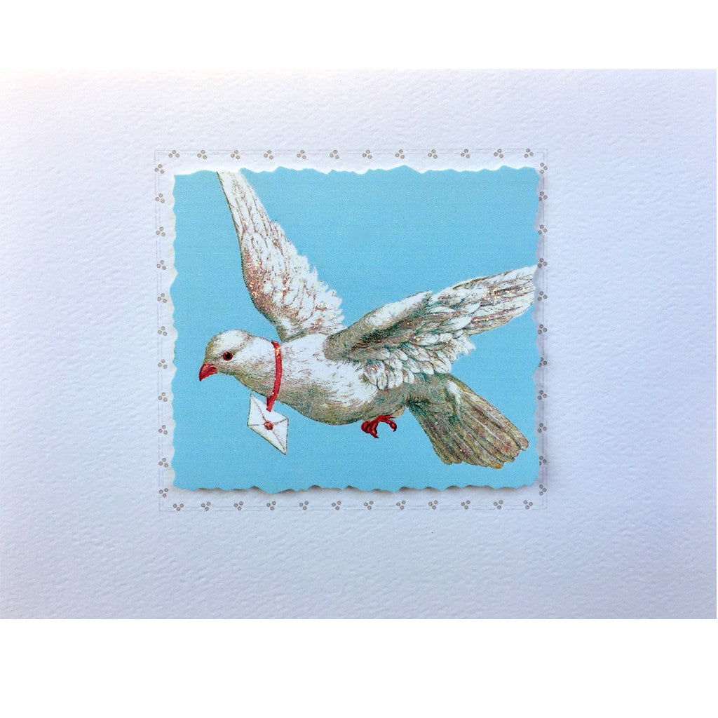 Messenger Dove Card
