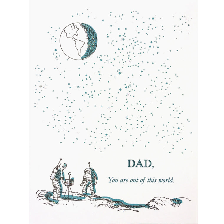 Out of this World Dad Card - Lumia Designs