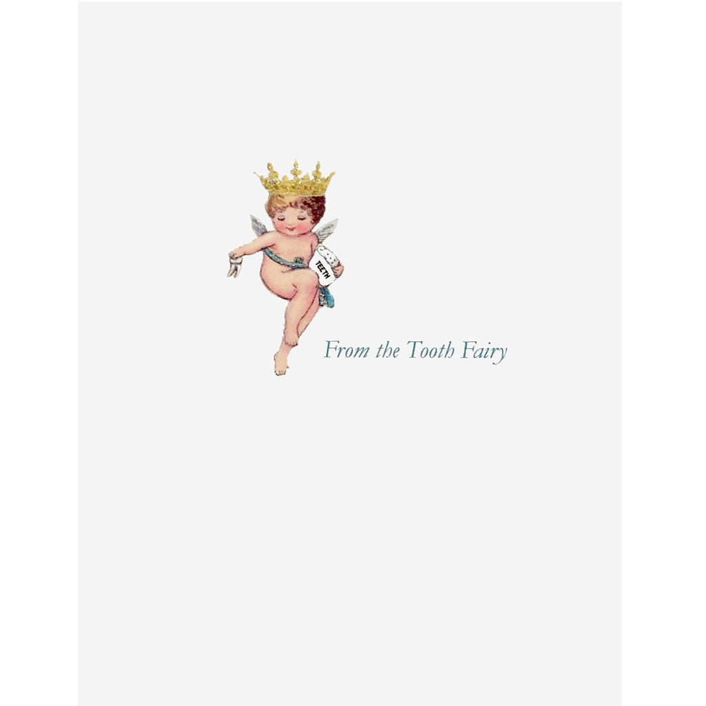 Tooth Fairy Greeting Card  - Lumia Designs