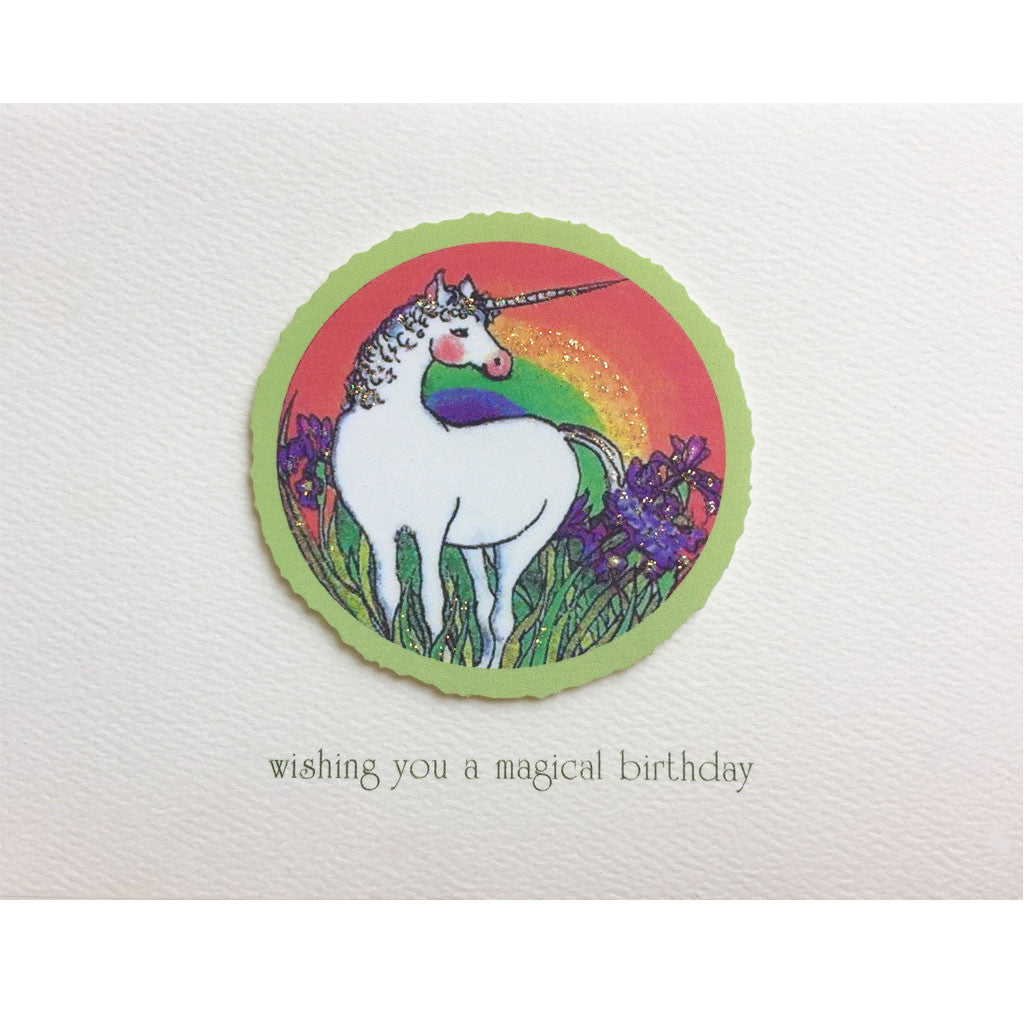 Unicorn Rainbow Birthday