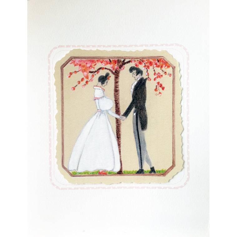 Greeting Card Blossom Wedding - Lumia Designs
