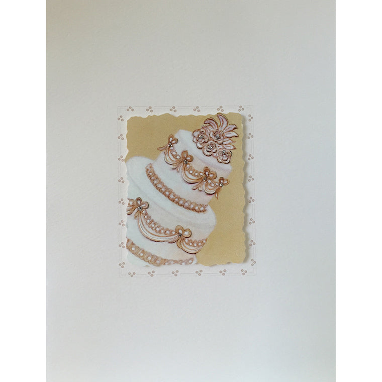 Greeting Card Wedding Cake - Lumia Designs
