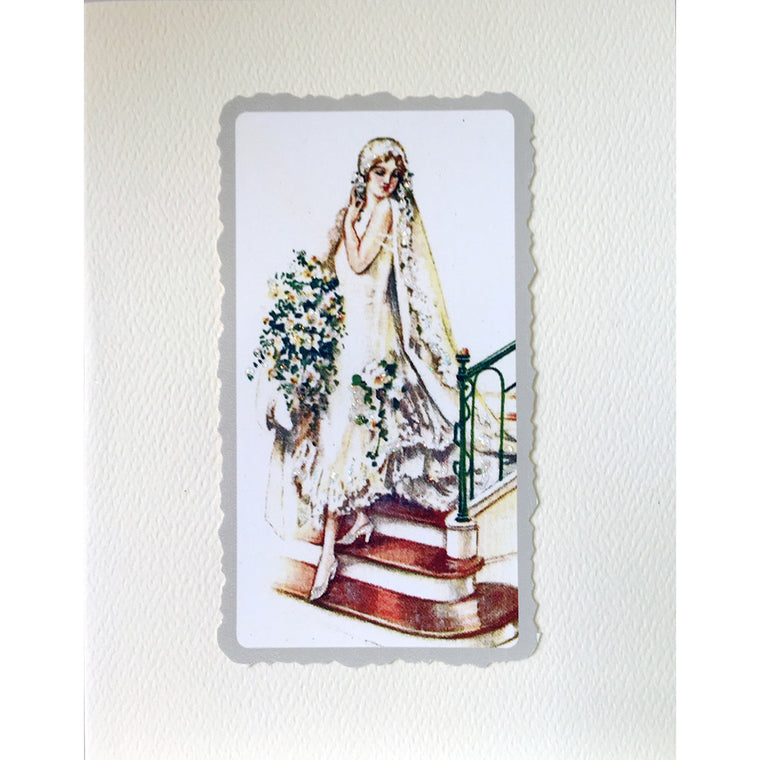 Greeting Card Beautiful Bride - Lumia Designs