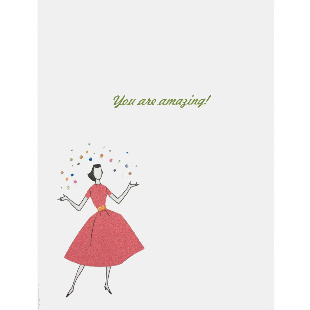 Amazing Woman Everyday Card