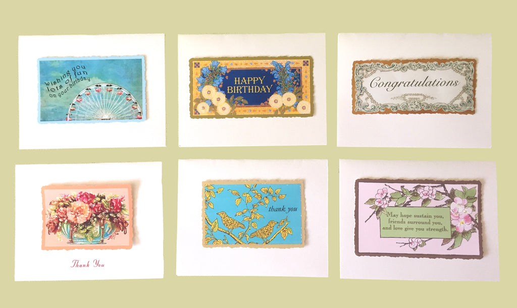 Assorted Greeting Cards Boxed set. Holiday Gift idea. Lumia Designs