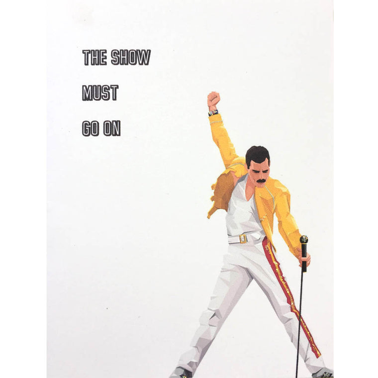 Freddy Mercury Card