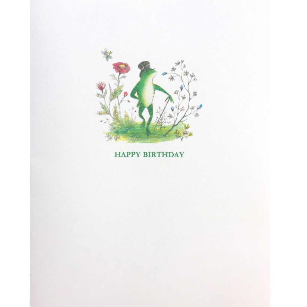 Frog Birthday Card - Lumia Designs