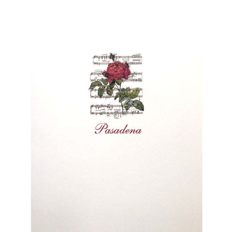 Pasadena Rose Card