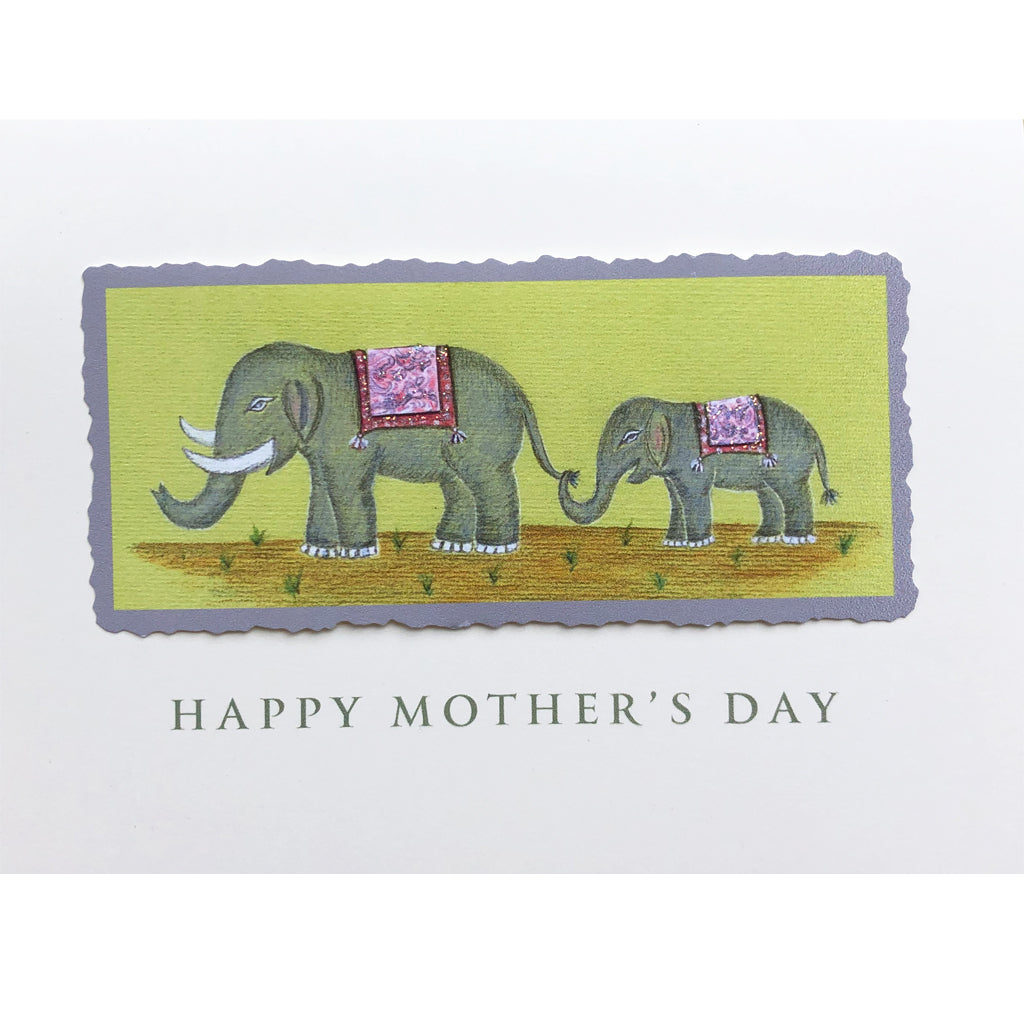 Elephants Mother's Day Card