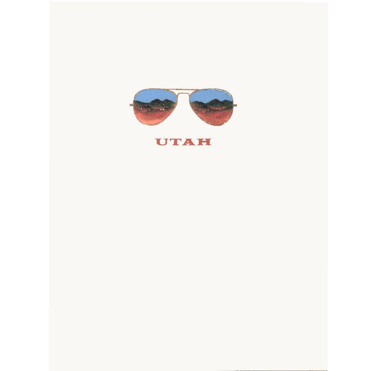 Utah Greeting Card Lumia Designs