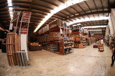 TV antenna warehouse boxes