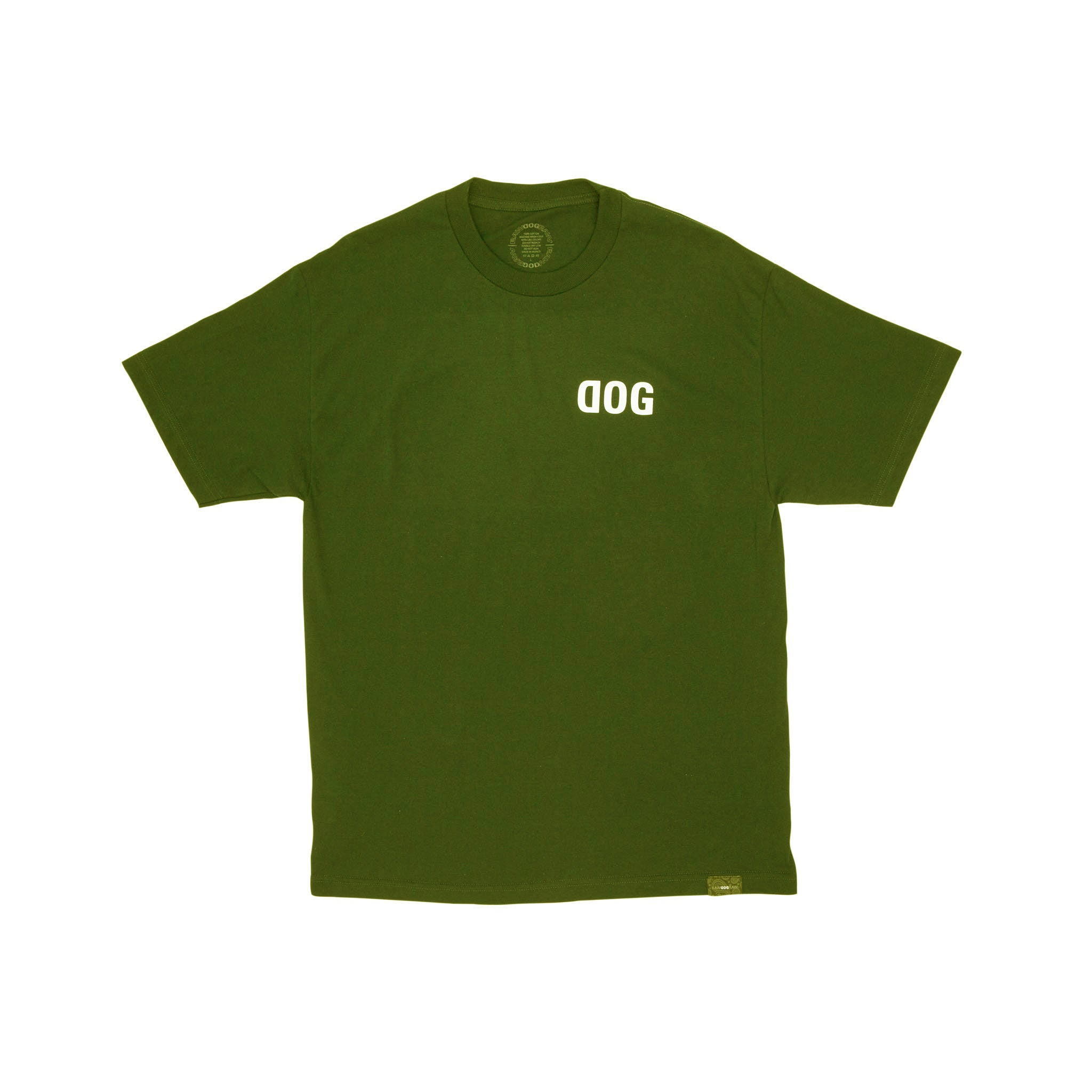 DOG OG Military Green T-Shirt