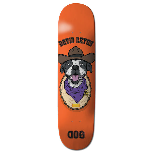 "RAWDOGRAW David Reyes ""Sheriff"" Skateboard"