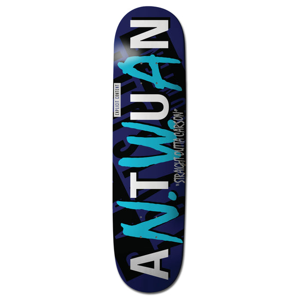 "Antwuan Dixon ""Explicit"" DOG Skateboard Blue Color Way"