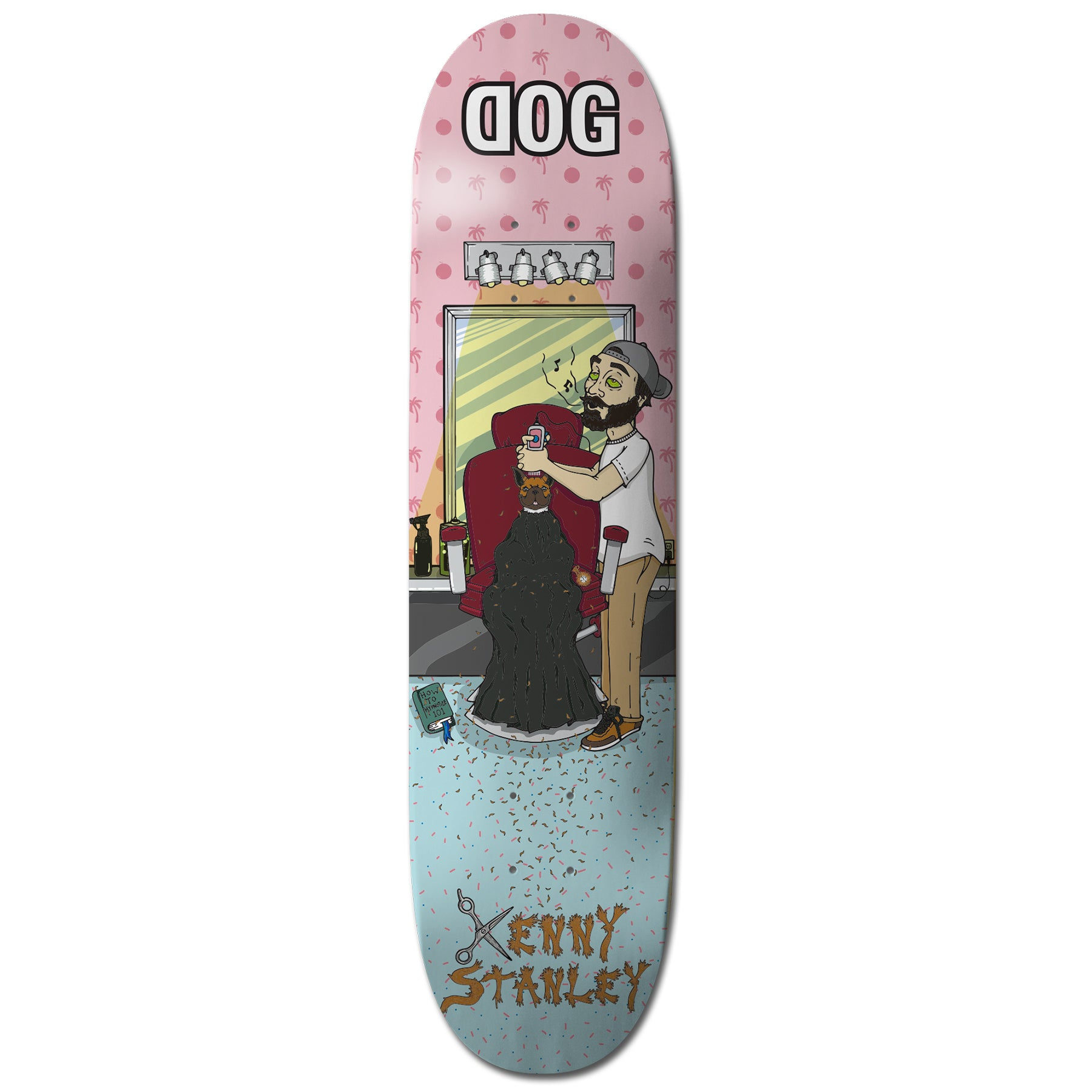 "Kenny Stanley ""Trim"" DOG Skateboard"