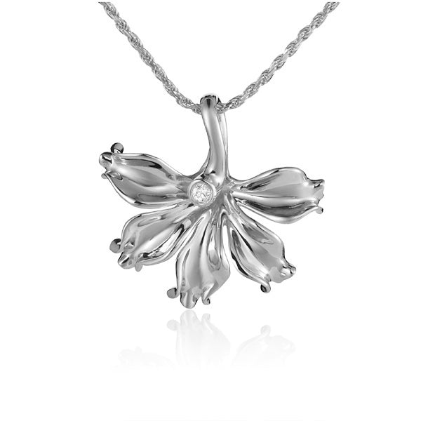 Napaka Flower Diamond Pendant