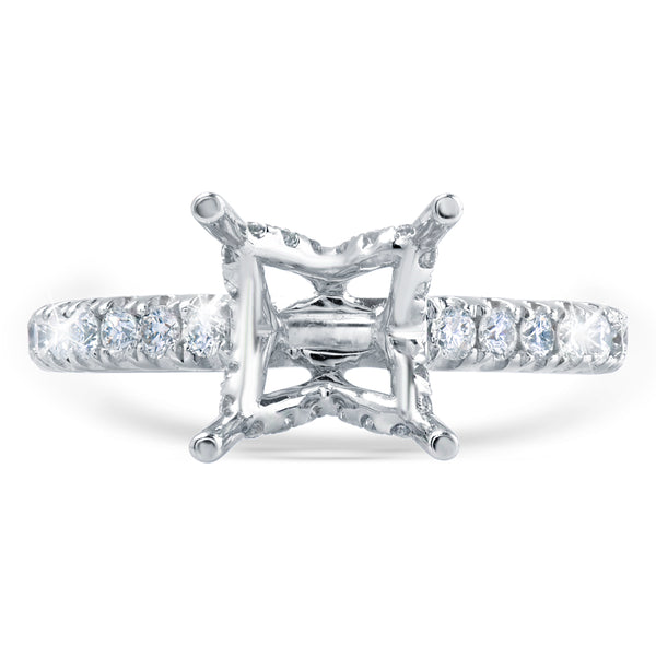 Diamond Ring Setting Greenleaf Diamonds