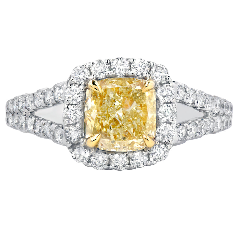 split oval with gold shank halo scroll semi in white diamond ring rings engagement gallery