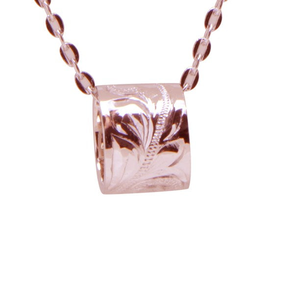 Gold Barrel Pendant Greenleaf Diamonds