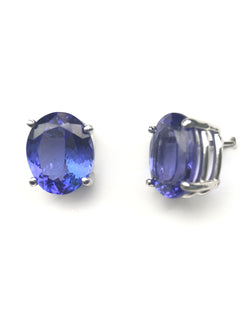 Tanzanite Earring Greenleaf Diamonds