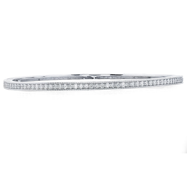 Sold: Fancy Diamond Bangle