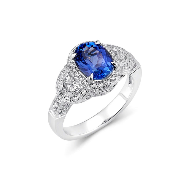 Tanzanite/Diamond Ring