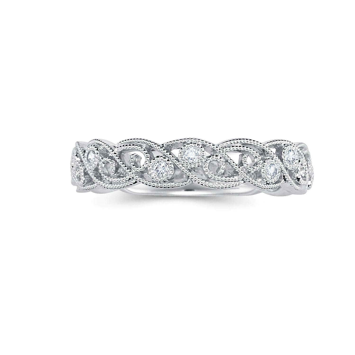 Sold: Antique Style Diamond Band