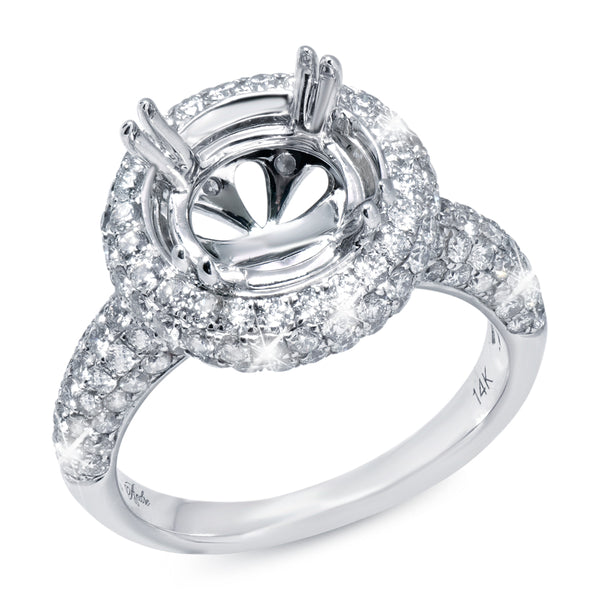 Diamond Halo Setting