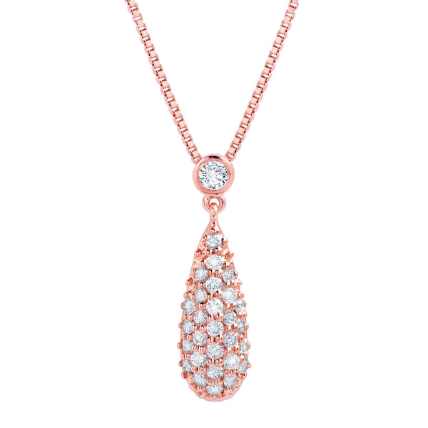 Diamond Drop Pendant