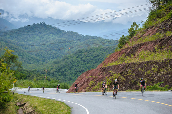 Nich-100Plus Cycling Team training camp at Nan, Thailand