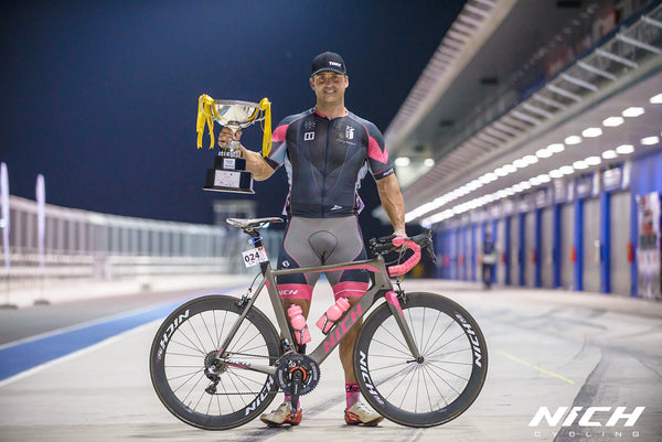 Krizan, The winner of 100Plus Grand Criterium 2015