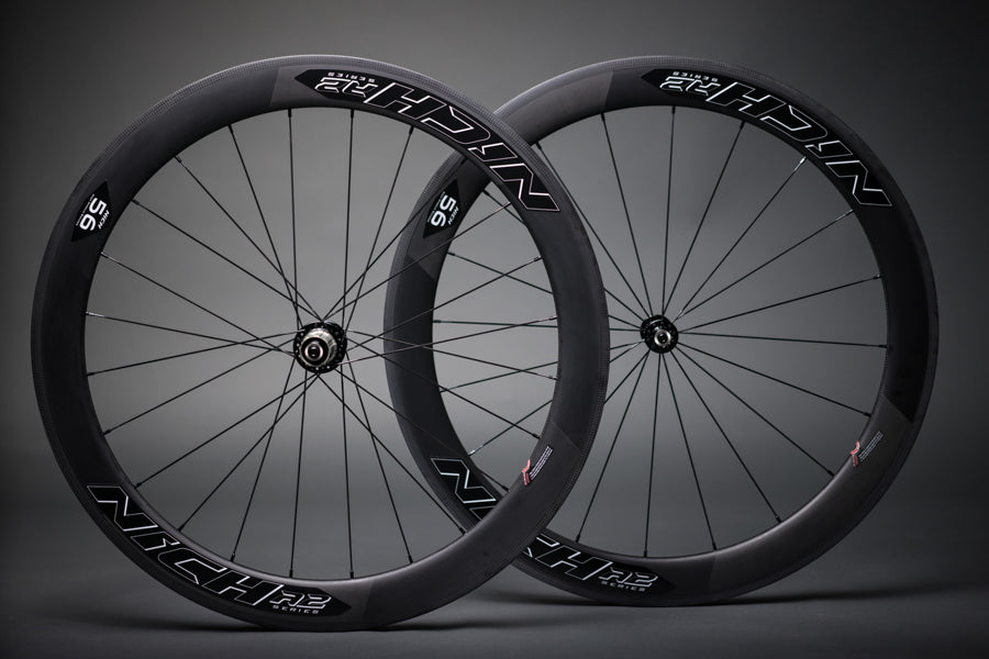 NICH Carbon wheelset BW decal Atem2 clincher