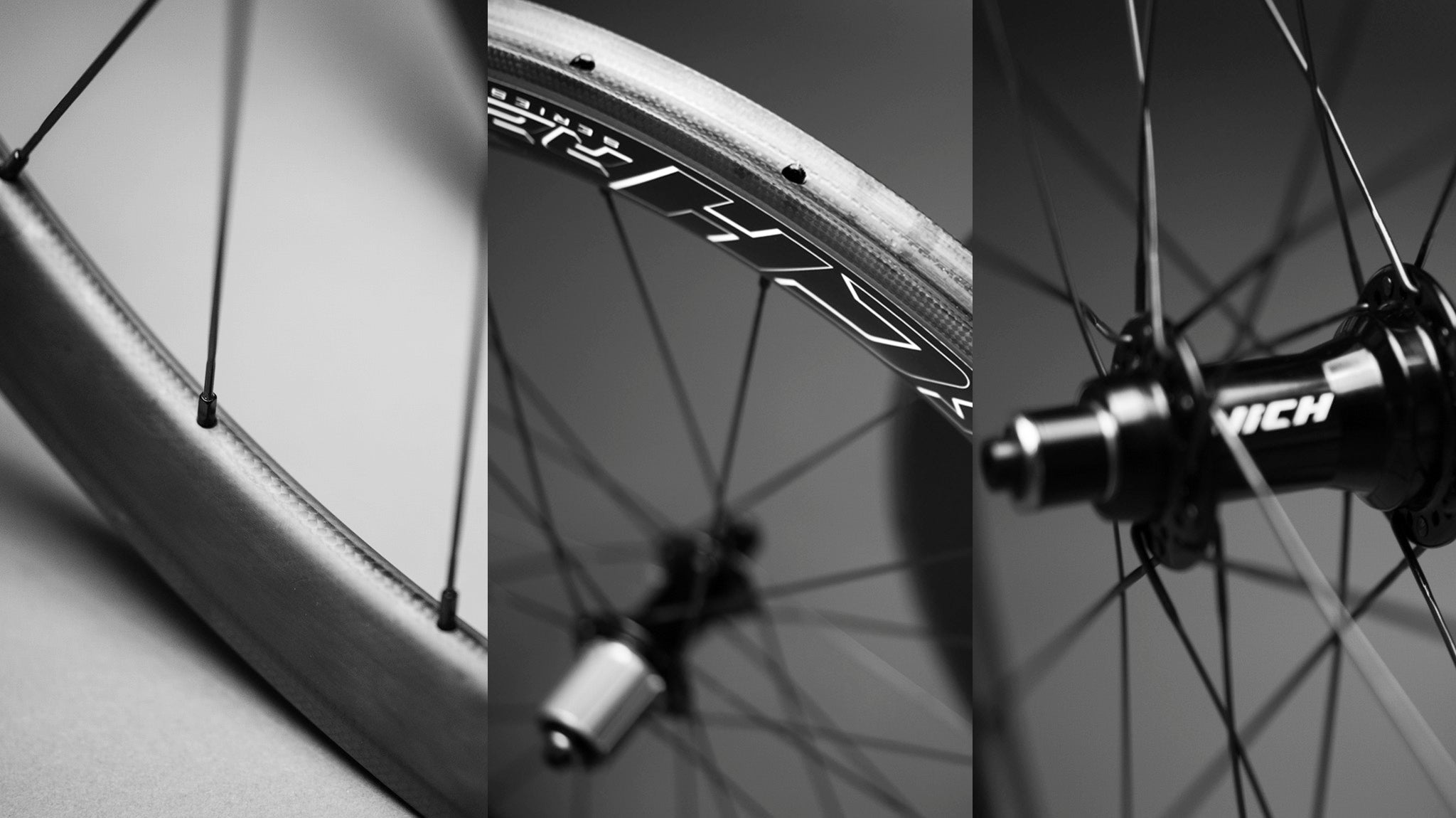 NICH Carbon wheelset Atem2 tubular profile