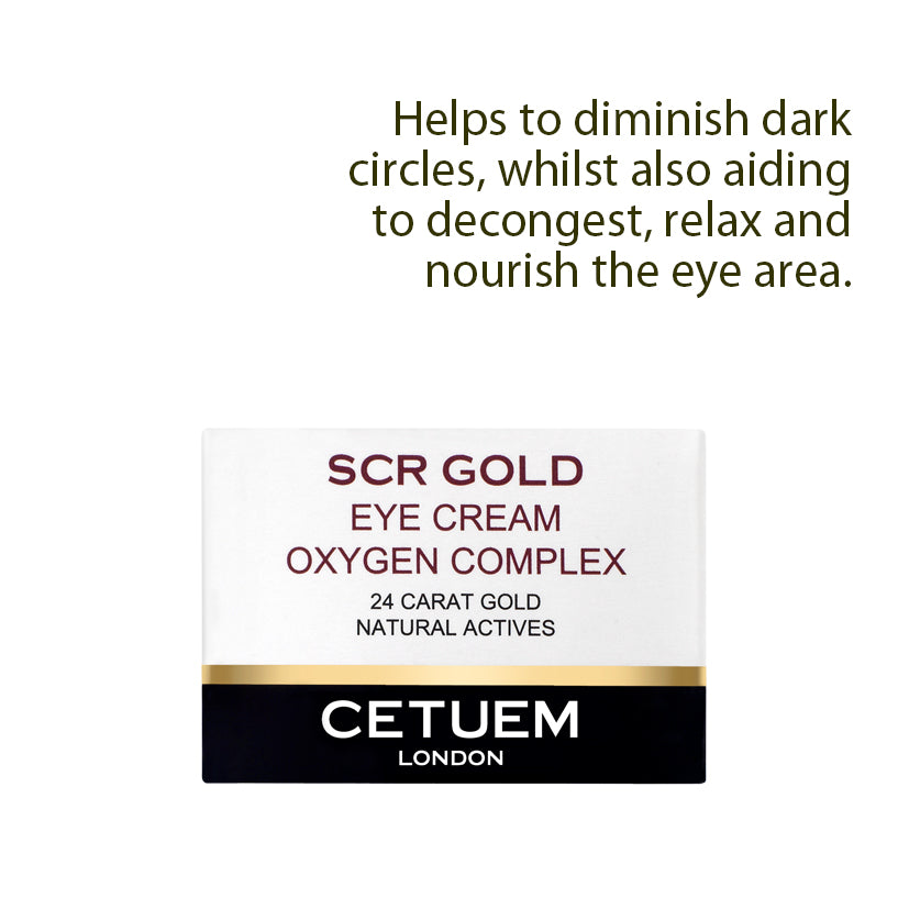 Eye Cream - Oxygen Complex - Cetuem
