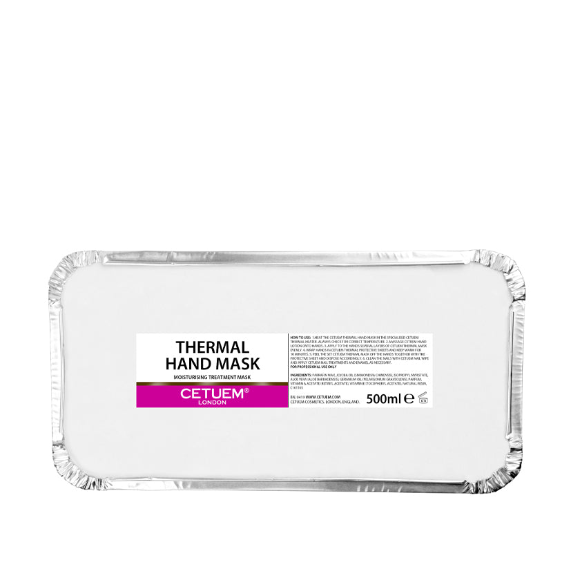 Thermal Hand Mask Trays - Cetuem