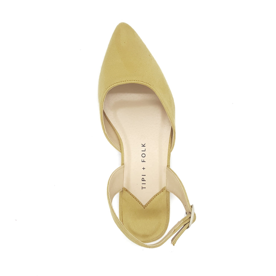 The New Luna, Beige Suede