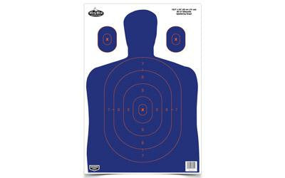 Birchwood Casey Dirty Bird Blue/Orange Silhouette Target 3pk | Discount Gun Parts @ Gun Parts USA