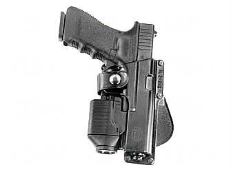 Fobus Paddle Roto Holster Tactical with Laser For Glock 19