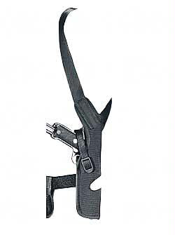 Uncle Mikes Vert Shoulder Holster Sz 4 Black Rh