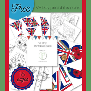 Free VE Day printables pack